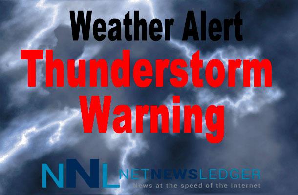 Thunder Storm Warning