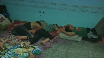 Refugees in UN School