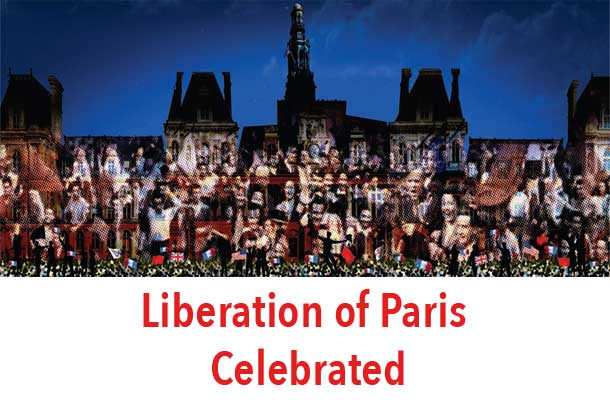 Paris celebrated the 70th Anniversary of the Liberation from Nazi Occupation