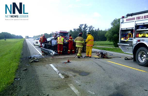Serious accident closed highway as RCMP investigate