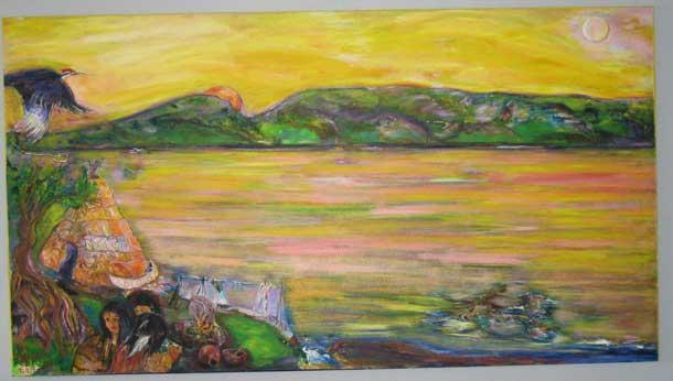 Awash in the Harbour by Ronn Hartviksen
