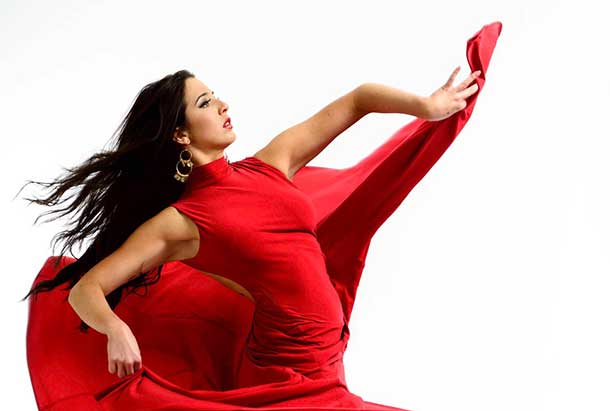 Anjelica Scannura, a Toronto based Flamenco dancer will be performing for a Thunder Bay audience on Saturday September 13th