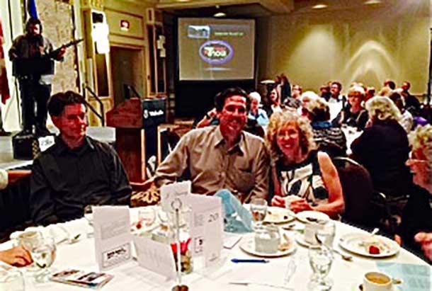 Memo held their dinner at the Valhalla Inn in Thunder Bay