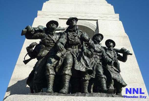 National War Monument in Ottawa Ontario