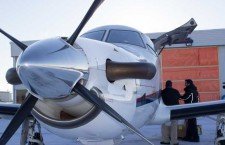 Loading the North Star Air plane in Thunder Bay