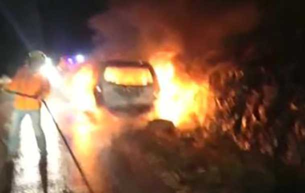 A firebomb has shattered the Christmas peace in Israel