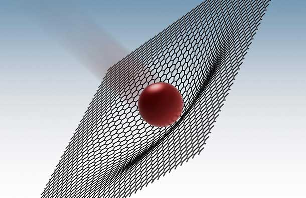 Rice University scientists fired microbullets at supersonic speeds in experiments that show graphene is 10 times better than steel at absorbing the energy of a penetrating projectile.