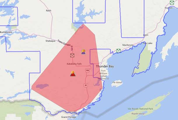 Hydro One Outages Map Hydro One Reporting Over 6000 Still Without Power