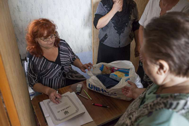 The UN is stepping up efforts to feed people in the Ukraine
