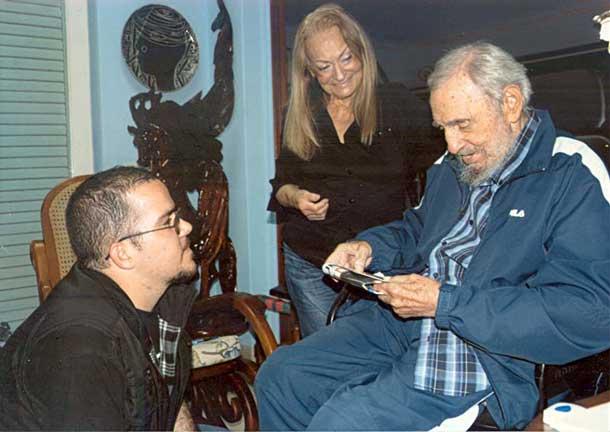 Fidel Castro - Image from Granma