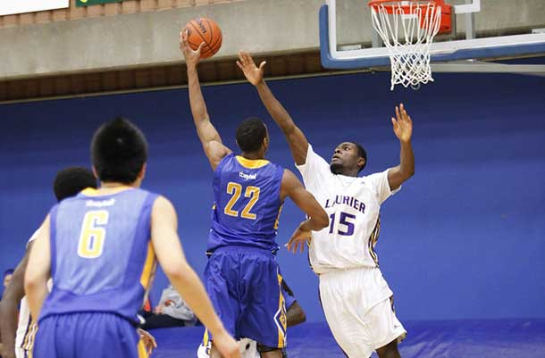 Lakehead T-Wolves Topped Laurier for the second night in a row at the Thunderdome.