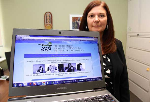 Western Nursing professor Marilyn Ford-Gilboe is heading up the Ontario portion of a national iCAN Plan 4 Safety study, which seeks to assist women affected by relationship violence who may be more willing, or able, to seek information or support via the web.