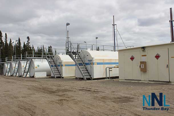 Electric power across the North is often produced by diesel generators in stations like this one in Bearskin Lake First Nation