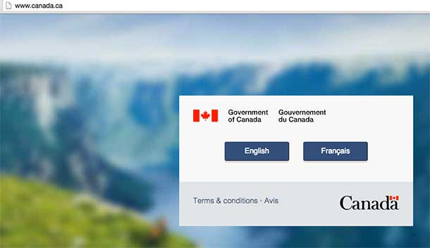 Canadian Government websites came under a cyber attack today