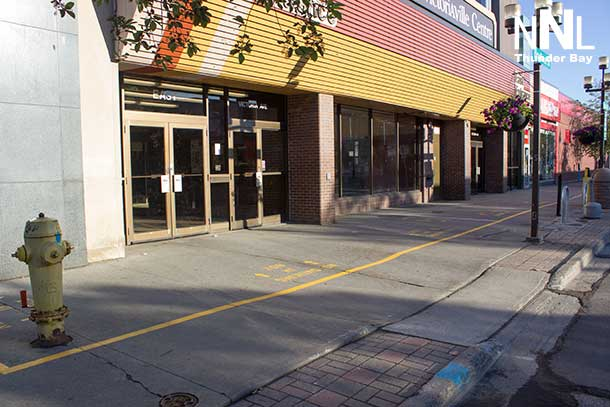 The Victoriaville Centre is cracking down on smokers outside their doors as well as loitering