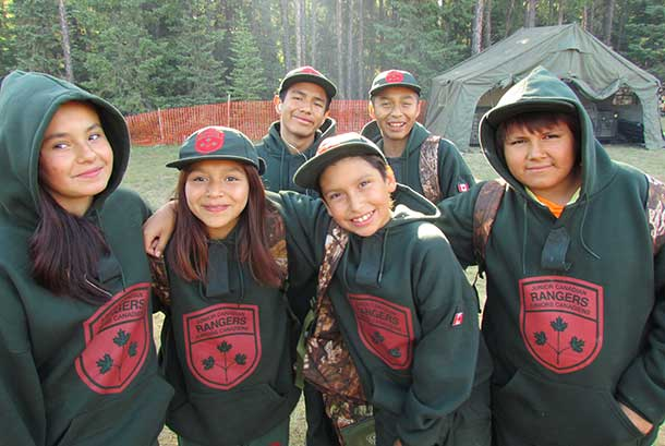 Junior Canadian Rangers set for Camp Loon 2015
