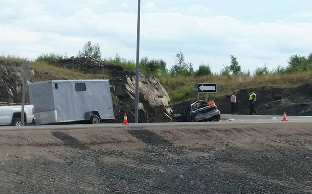 An accident on Highway 11/17 east of Thunder Bay has claimed two lives.