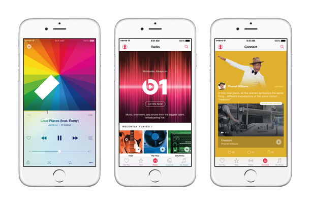 Apple Music offers lots of options for music lovers