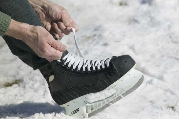 Get more activity into your holiday plans, such as ice skating. Credit: Thinkstock.com