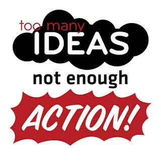 Taking action is the starting point for change
