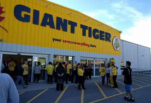 The New Giant Tiger store has opened in Sioux Lookout