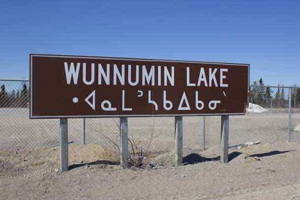 Wunnimun Lake First Nation is 500 km from Thunder Bay