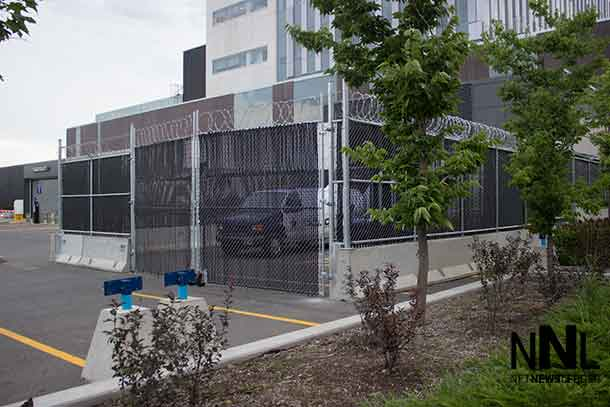 Thunder Bay District Courthouse is getting upgraded security for transporting prisoners into and out of the facility