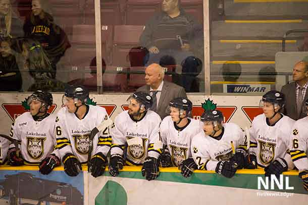Thunderwolves Head Coach Bill McDonald will have to get his team focused on playing solid hockey for the rematch against Lethbridge