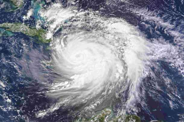 Hurricane Matthew is seen over Haiti in this image taken from NASA's Aqua satellite October 4, 2016. NASA/Handout via REUTERS