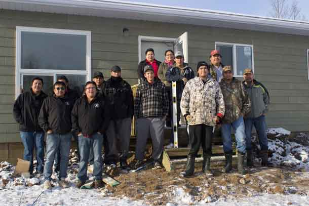 Sachigo Lake First Nation and North Star Air Celebrate new house in community
