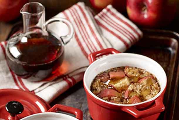 Foodland Ontario - Baked Apple Oatmeal