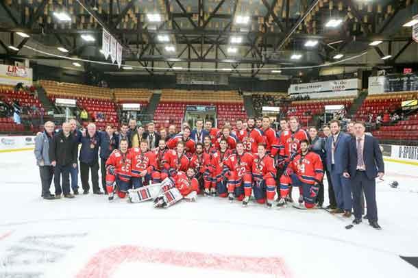 Acadia captured the Men's Hockey Bronze Medal