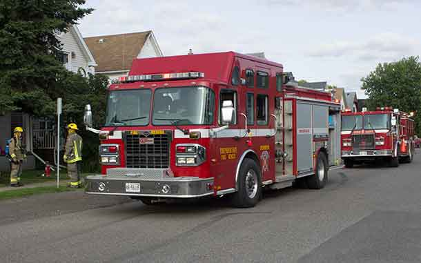 Thunder Bay Fire Rescue Units