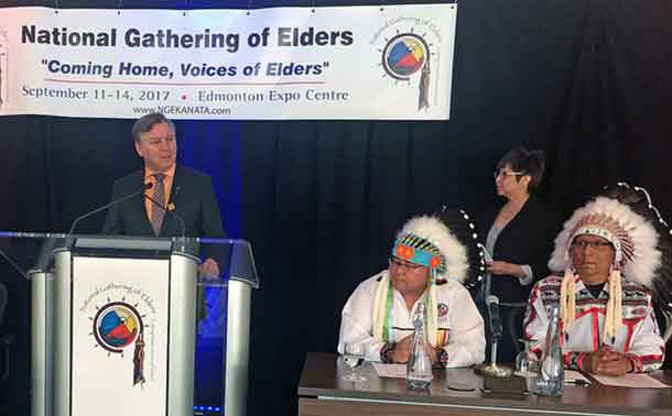 National Gathering of Elders supported by Alberta Government