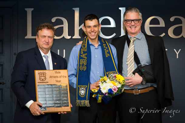 Lakehead Athletics Nordic Skier is Athlete of the Year