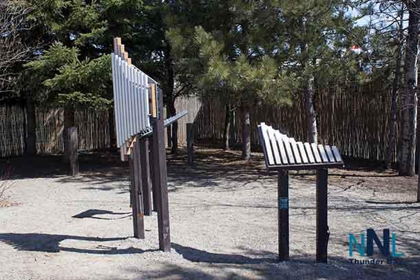 Music Station at Playground