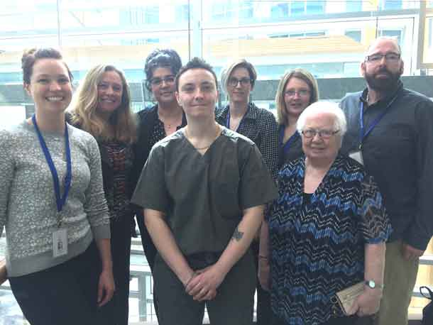Members of our Health Sciences Centre's Ethics Committee
