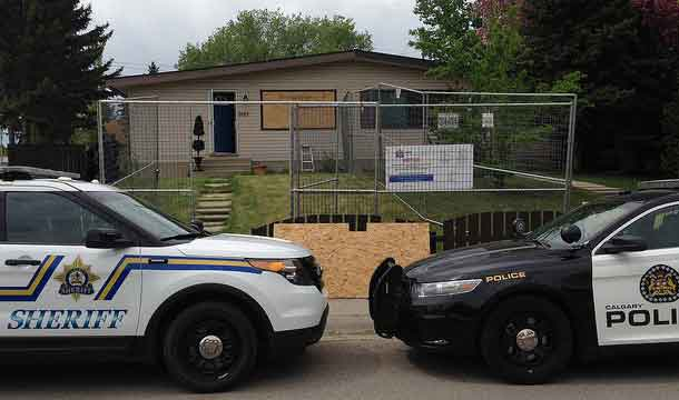 The Safer Communities and Neighbourhoods Team in Calgary has boarded up another notorious drug house