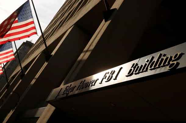 A general view of the Federal Bureau of Investigation (FBI) building in Washington, U.S. May 9, 2017. REUTERS/Jonathan Ernst