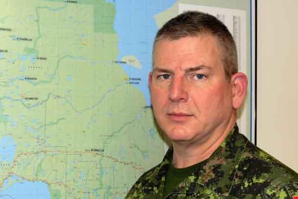 Lieutenant-Colonel Matthew Richardson credit Sergeant Peter Moon, Canadian Rangers