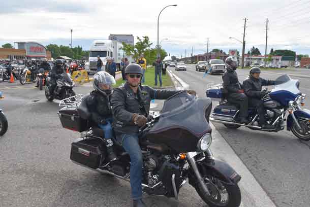 It's been going strong for 17 years and the combined roar of hundreds of motorcycles each year never gets old. This morning at 9:30 a.m. riders revved their engines as they took off in the Roar for the Cure as part of the Tbaytel Motorcycle Ride for Dad, presented by WINMAR. This year's event raised $54,106 in support of prostate cancer education, care and research through the Northern Cancer Fund, bringing the event's total to $1,002,355!