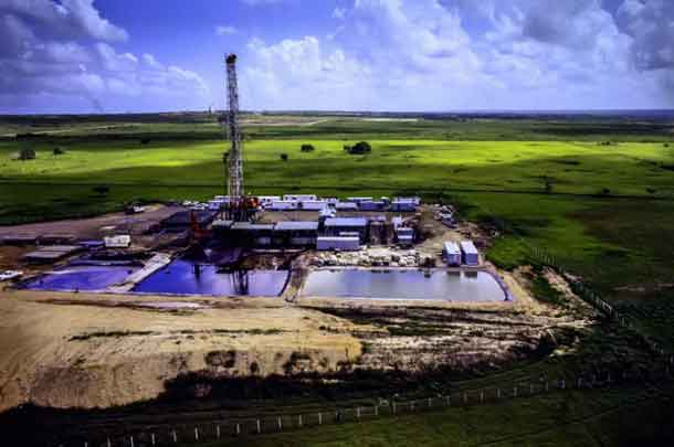 According to the US Energy Information Administration, hydraulic fracturing accounted for more than one-half of US oil production and two-thirds of US gas production in 2015. That percentage is expected to rise as more states begin to adopt the practice. CREDIT: Penn State