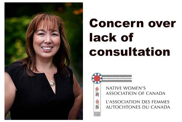 NWAC is concerned that the split at INAC was done without consultation