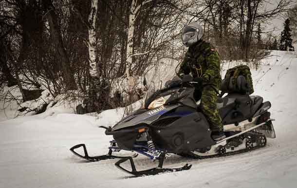 Members of 38 Canadian Brigade Group's Arctic Response Company Group participated in Exercise FIRST RUN in Kenora, ON Jan. 19 - 21.