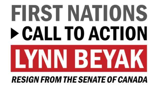 Senator Beyak Resign