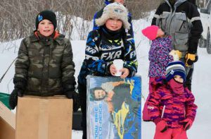 Child Winners (left to right): 3rd place Barrett Alton, 1st Place Ashton Forgette and 2nd Place Emilie Kelner