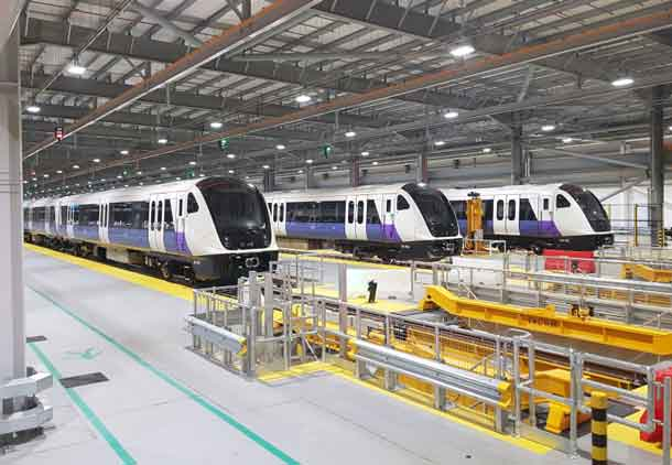 Bombardier Transportation has received an order for an additional five trains for the London Underground