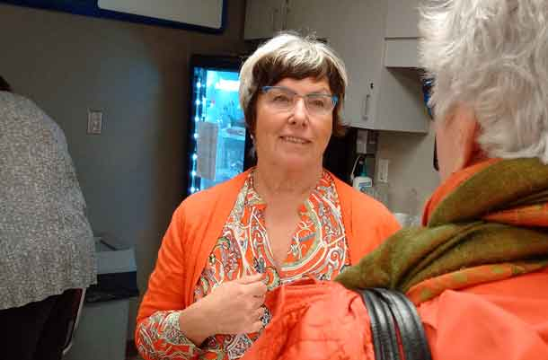 Judith Monteith-Farrell is the NDP candidate for the Thunder Bay Atikokan Liberals