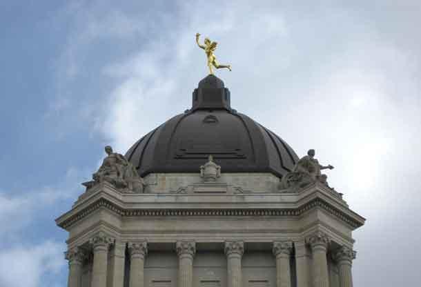 Golden Boy at the Manitoba Legislature