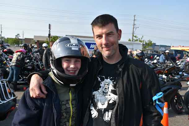 The 2018 Tbaytel Motorcycle Ride for Dad, presented by WINMAR, welcomed 249 riders and passengers and raised $75,541.63, bringing the 18-year total to $1,077,896. All funds raised through the Northern Cancer Fund support prostate cancer education, care and research in Northwestern Ontario, with 100% of funds raised staying local.